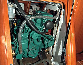 Varmgangskadet motor