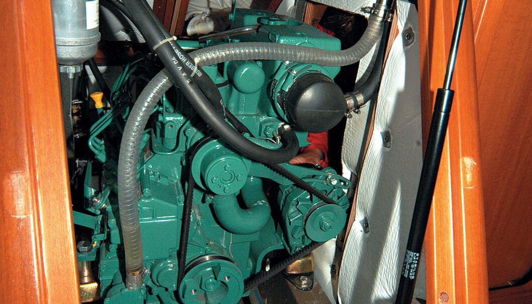 VARM MOTOR: Motoren hadde gått varm, men skulle være fagmessig reparert. Flere feil dukket opp. (Illustrasjonfoto)