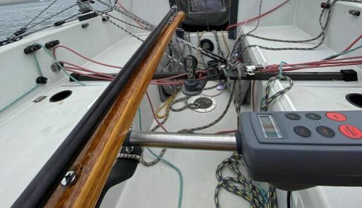 Båtens hjelpende hånd - autopiloten