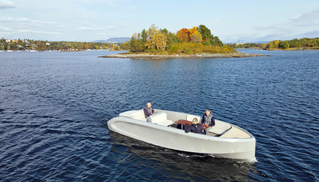 LEIE: Kruiser tilbyr abonnement på elbåter, her fra Holtekilen i Bærum.