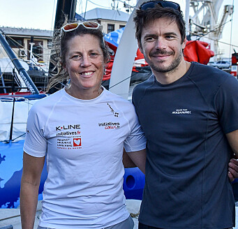 CAPE TOWN: Sam Davies og Sebastien Simon seilte svært bra, inntil de fikk skade og brøt seilasen nesten samtidig.