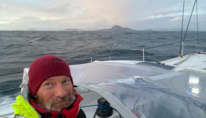 #EN# Photo sent from aboard the boat STARK during the Vendee Globe sailing race on January 25, 2021. (Photo by skipper Ari Huusela)  #FR# Photo envoyée depuis le bateau STARK pendant le Vendee Globe, course autour du monde à la voile, le 25 Janvier 2021. (Photo prise par le skipper Ari Huusela)