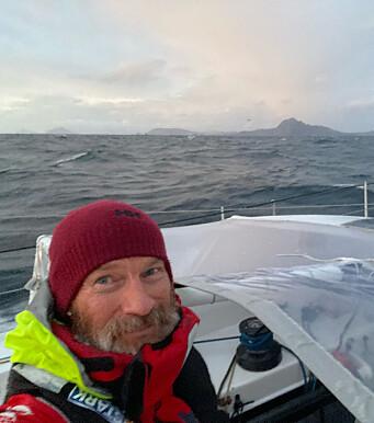 NORDEN: Ari Huusela rundt Kapp Horn som siste båt.