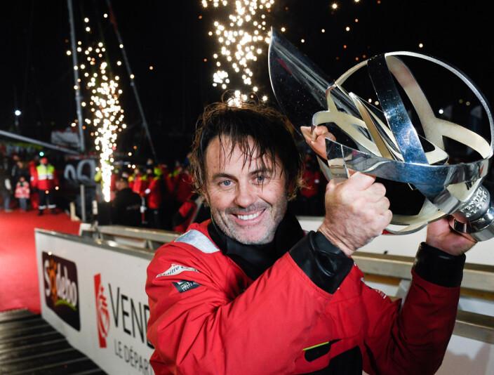 VINNER: Yannicke Bestaven vant Vendee Globe med gammel båt, og stiller til start i samme båt.