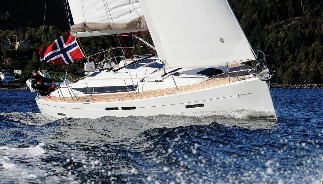 ELEGANT: Sun Odyssey 409 er en etterpurt båt på bruktmarkedet i dag.