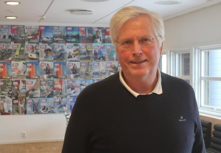 INITIATIVTAKER: Asbjørn Næss skal selv seile Kaupangleden i sin Dehler 36.