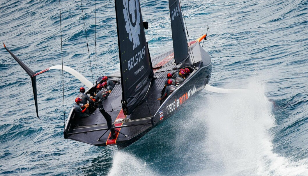 INEOS Team UK vil sloss for en plass i America's Cup finalen