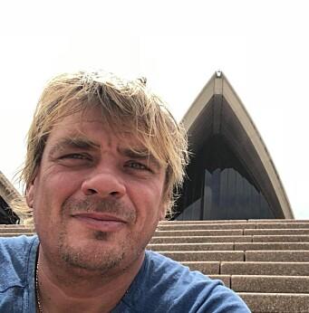 LANGTURSEILER: Gaute Ulvøy mistet det meste han eier i Stillehavet. Nå samles det inn penger for bilett hjem, og for å få fjernet båtvraket.