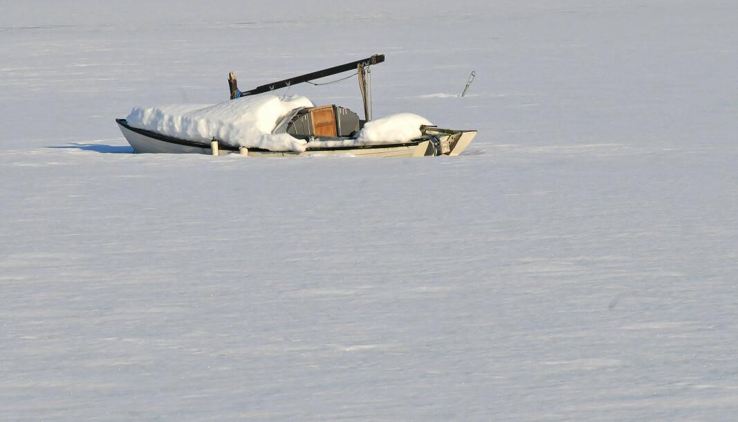 IS: Skroggjennomføringer en båtens svakhet når den ligger i vannet om vinteren.