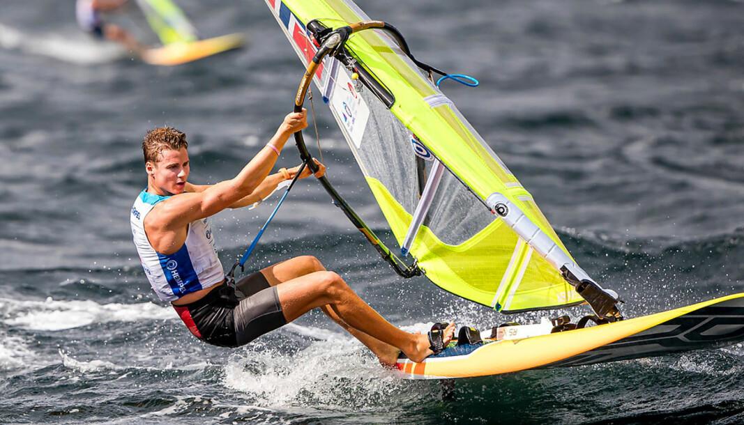 MOT OL: Endre Funnemark fra KNS sikter mot en OL-plass i Tokyo i 2021.