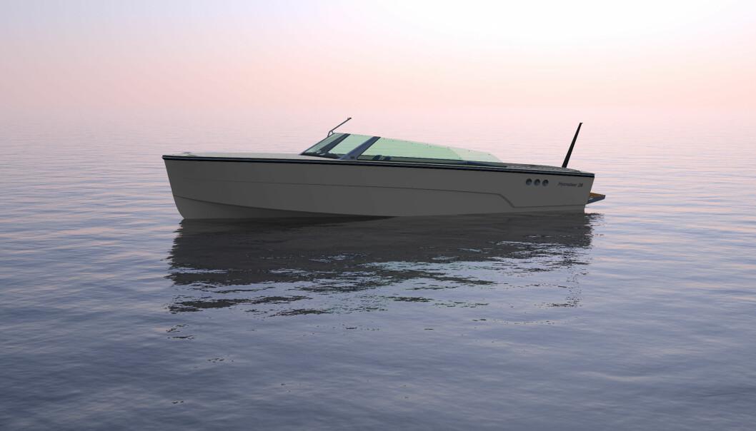 Nå er den snart her!Hydrogen-elbåten