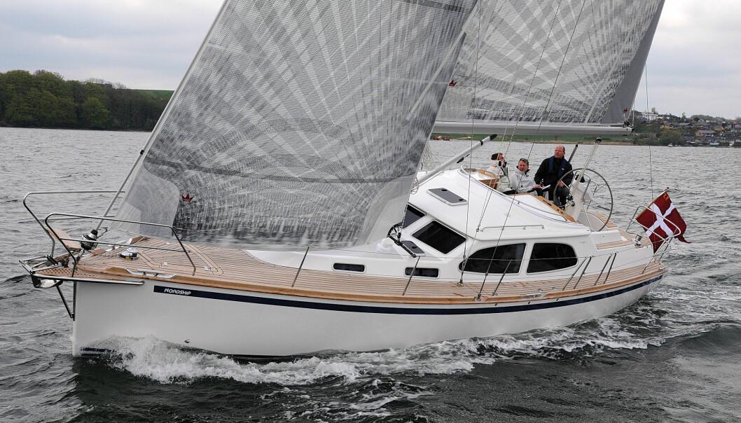 RASK: Nordships 360 DS forener fordelene med en motorseiler og gode seilegenskaper på en ypperlig måte.