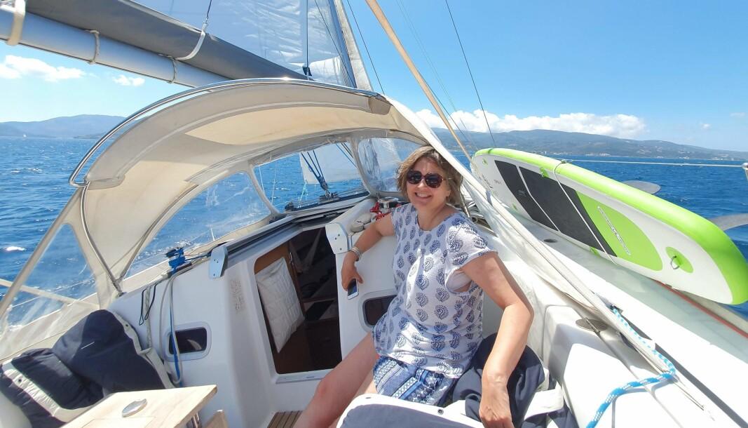 VINDEN: Å seile er miljøvennlig lykke.