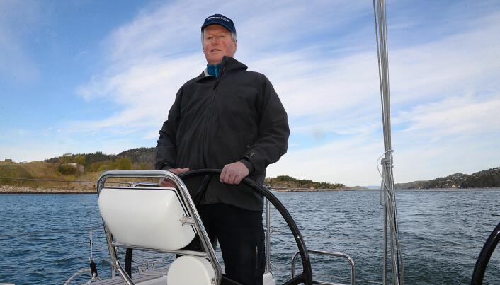 SEILER: Henrik Torgeresen utvikler en rekkevideforlenger basert på hydrogen.