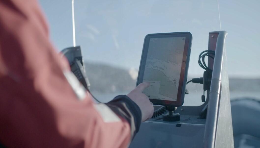 NAVIGASJON: Orca er mer enn en plotter, det er også en skytjeneste som samler båtens data.