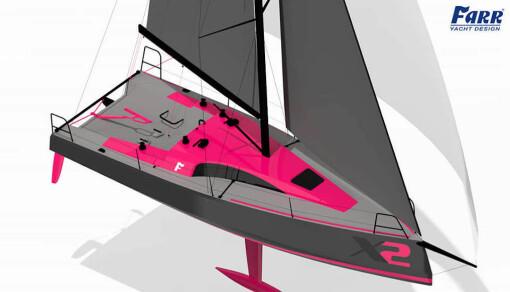 SHORTHANDED fra FARR Fra USA kommer denne 30-foteren, en båt som kan passe den nye OL-klassen godt. Båten har mye til felles med Delher 30 OD, men vil veie noen kilo mindre, og ha litt mer seil. Formspråket er også meget likt. Innredningen vil også enklere. Seldén har utviklet en egen karbonmast for denne båten. Båten blir annonsert til en 206 000 dollar. Omregnet til euro blir det 174 000 euro, mens Dehler 30 OD koster 109 000 uten moms, og annonserer til 1,5 millioner kroner i Norge.