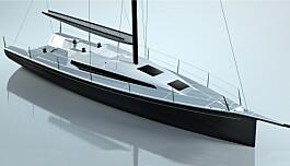"""<span class="""" font-weight-bold"""" data-lab-font_weight_desktop=""""font-weight-bold"""">Ekstrem familieracer fra Sverige</span> I 2007 utviklet Rolf Tannergård Aspect 40, en lett og smal 40-foter. Nå bygges en større og bedre båt hos Sune Carlsson båtvarv utenfor Stockholm. Også 45-foteren blir lang og smal. Båten bygges ekstremt, og får et 3 mm tykt skrog i ren karbon. Det er ikke spart på noe på båten til 13 millioner. Da får du en innredning på størrelse med dagens 38-fotere. Det utvikles nye hydrauliske systemer som trimmer det meste av seil via en fjernkontroll. Båten får også et hybrid fremdriftssystem."""