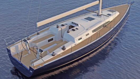 """<span class="""" font-weight-bold"""" data-lab-font_weight_desktop=""""font-weight-bold"""">Drømmebåt fra J/Boats</span> J/45 er et resultat av tre års utviklingsarbeid mellom J/Boats i USA og J/Composites i Frankrike, hvor båten skal bygges. Resultatet skal bli en seilbåt med elegante linjer, og med et lettdrevet skrog. Båten vil få et nytt høyere nivå på interiøret, med bedre komfort. Verftet har fått hjelp av Isabelle Racoupeau på interiøret. Båten leveres med to bad, og to eller tre lugarer. Verftet hevder av J/45 vil sette en ny standard for turseiling. Det lettdrevete skroget vil redusere tiden under motor. 40 prosent vekt i kjølen og et lett og sterkt skrog bygget med vakuumteknologi bidrar til økt ytelse."""