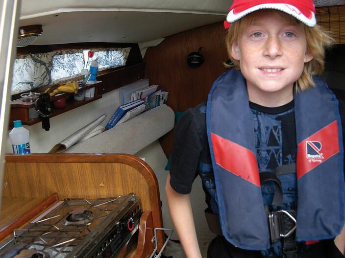 Norges yngste seilbåtreder