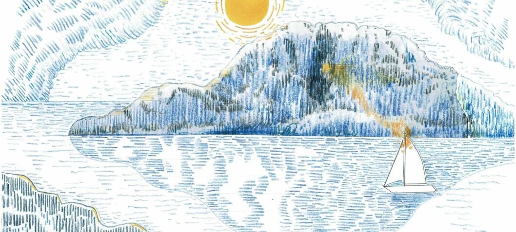 ... på den yderste nøgne ø