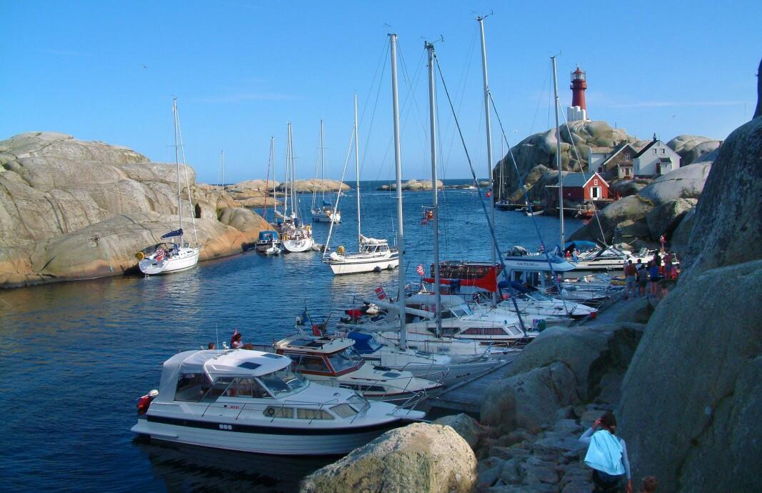 SVENNER: Drømmen for båtfolket på Østlandet ligger rett ut fra Larvik.