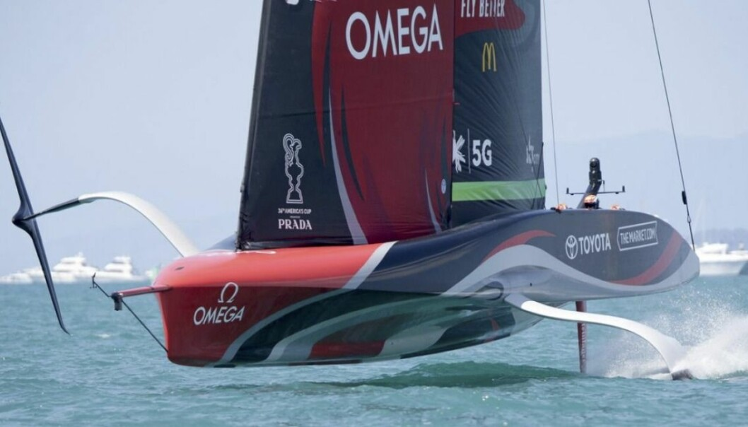Emirates Team New Zealand utlignet i Auckland