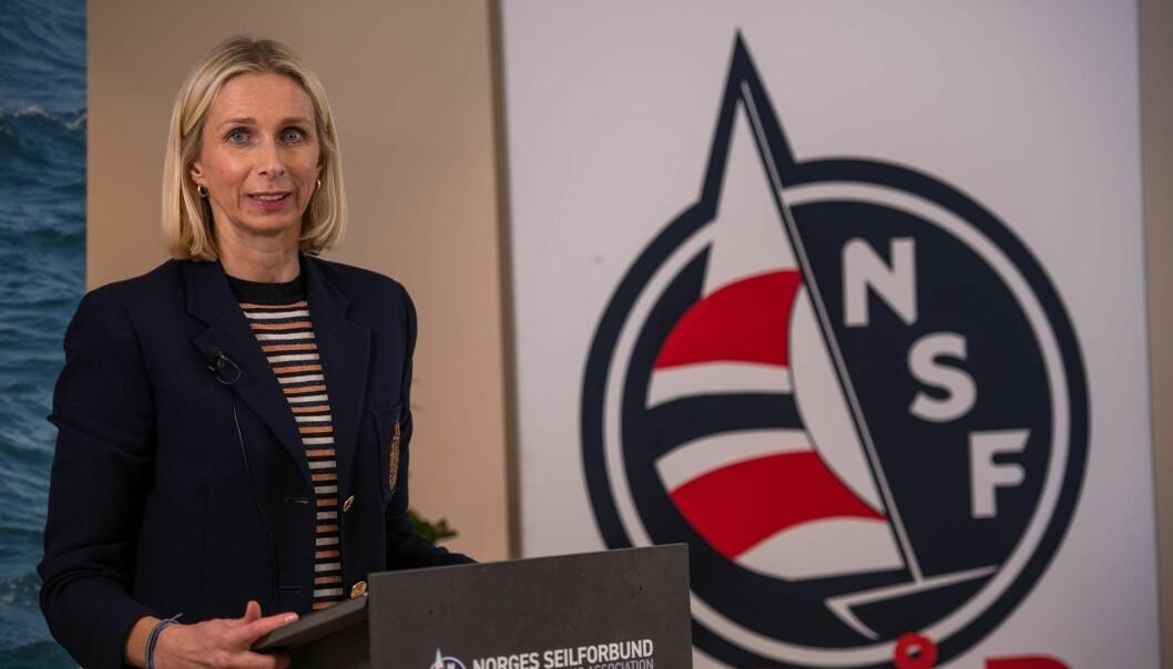 NY PRESIDENT: Guro Steine ble valgt til ny president for NSF på Seiltinget tidligere i år.