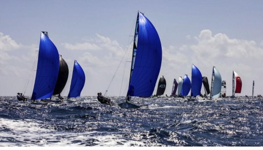 49erFX på Lanzarote