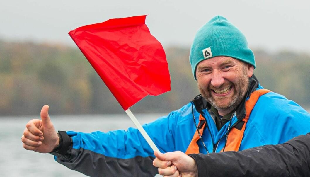 FORSTÅ REGLENE: Karl Petter Haugen har skrevet en bok som vil kunne være til god hjelp for alle som seiler regatta.