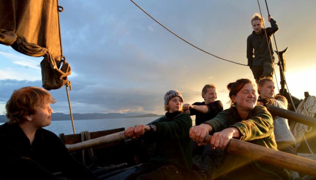 ØYHOPPING: Med fembøringen «Kjerringøy» kan du være med på en ukes øyhopping i skjærgården i Nordland og ende opp i Nordskot i Steigen.