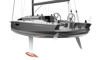 HEKK: Båten får doble ror og en ny vri bak.