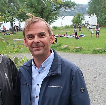 KJEMPER: Erik Kristiansen er ikke i mål for at foreningen skal holde aktiviteter på Myren.