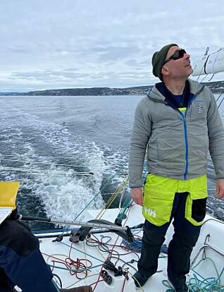 Tim Sandberg er co-skipper