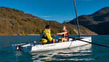ÅRER: Båten har alt som skal til for å tilfredstille en kresen roer.
