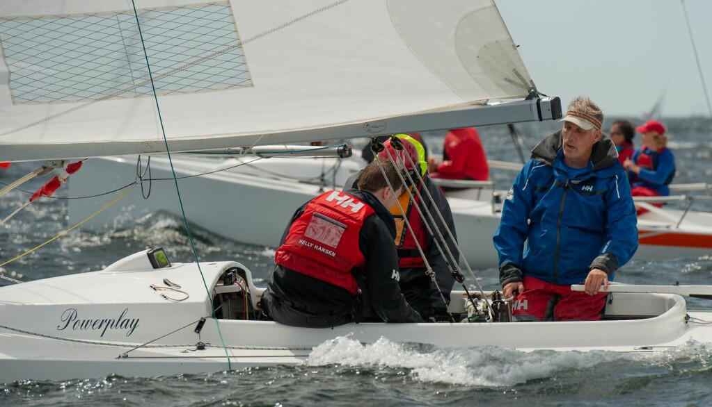 SEILER: Espen Guttormsen kan se tilbake på en lang karriere som seiler. I de senere årene har han blant annet seilt en del Drake.