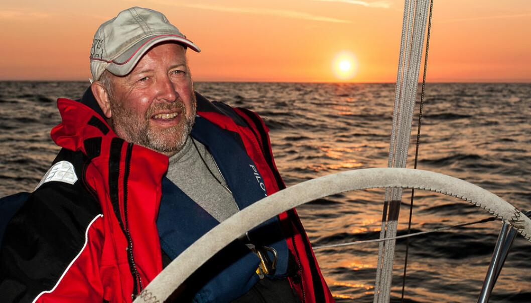 SEILUT SØR: Bjørn Stien håper å få fart på alle båtene som ligger i havnene rundt om på Sørlandet gjennom turseilingskonkurransen SeilUT SØR.