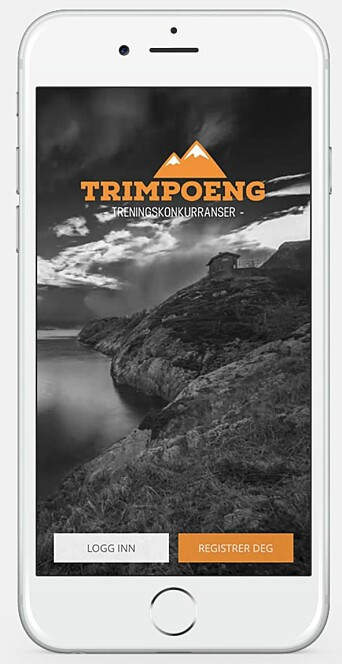 TRIMPOENG: Gjennom denne appen vil man kunne registrere havnebesøkene i konkurransen SeilUT SØR.