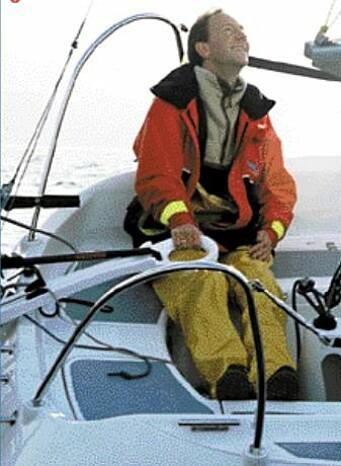 RORKULT: Rorkulten var behagelig utformet og bidro til å gjøre båten god å styre.