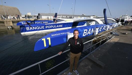 LEKETØY: Armel Le Cléac'h kan glede seg over nytt leketøy til 150 millioner kroner etter hans forrige gikk i stykker.