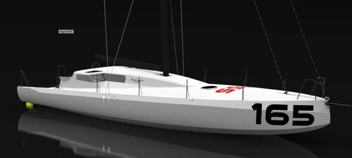 NY: Pogo utvikler en ny generasjon Class 40, og slik blir båten fra Verdier.