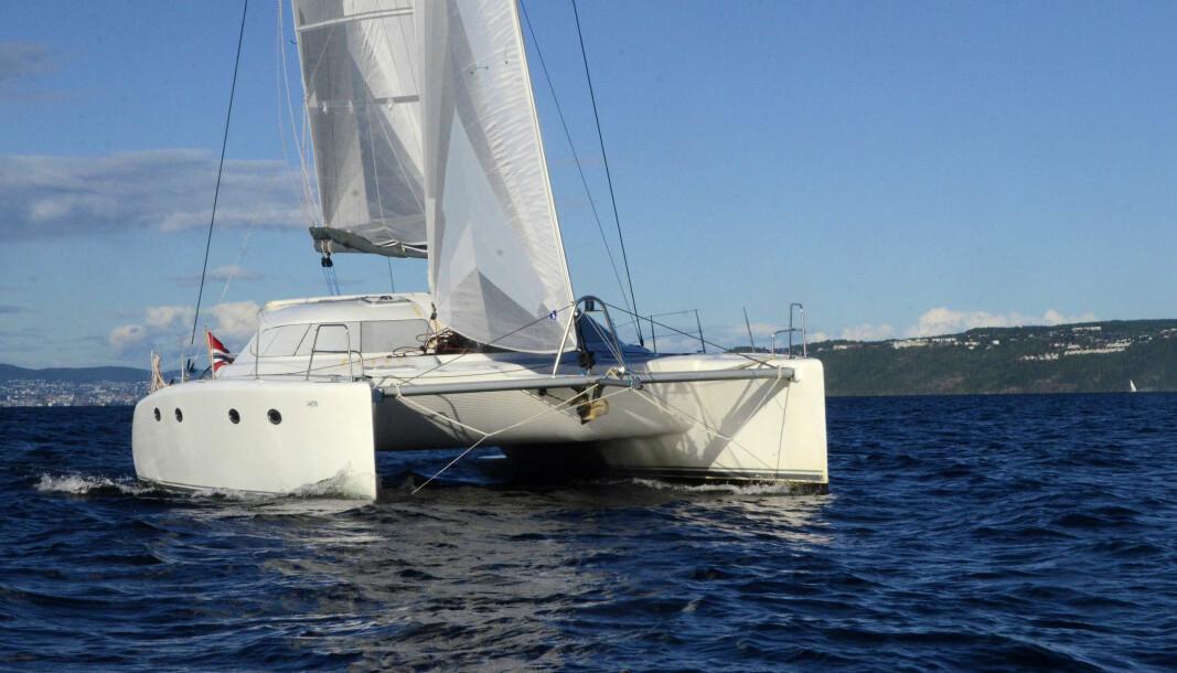 MAGGY VII: Mowinckel har hentet hjem en Fusion 40 fra Middelhavet. Nå begynner båten å bli bra.