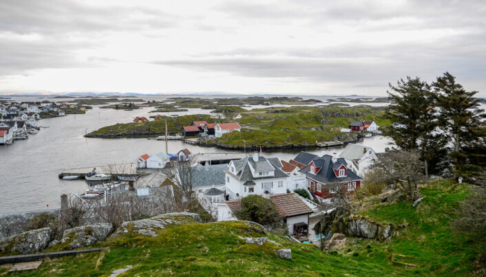 HAVGAPET: Kvitsøy ligger vest for Stavanger.