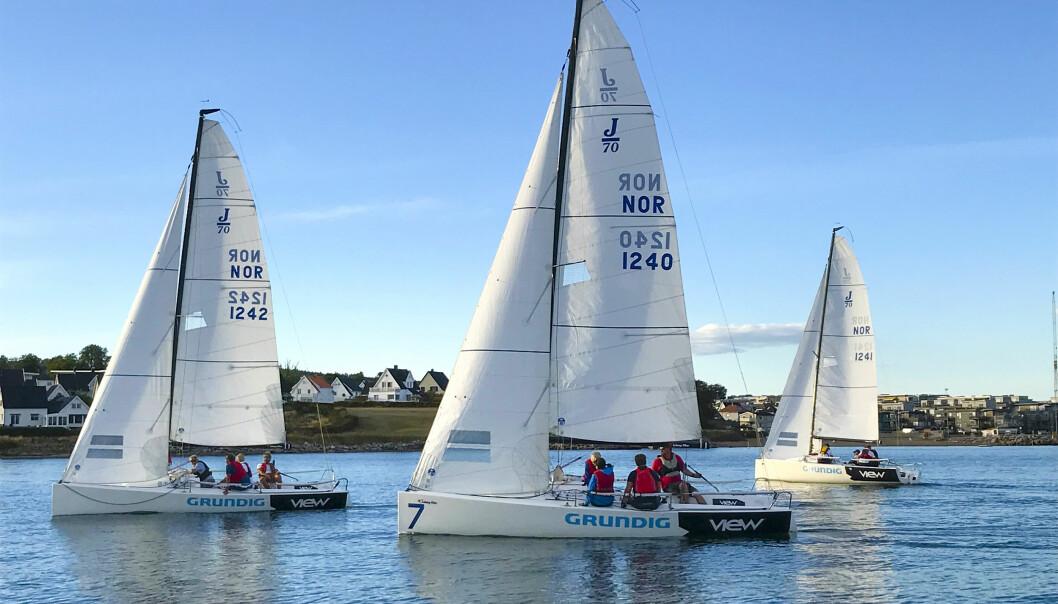 DELINGSØKONOMI: Flere seilforeninger satser på båtpooler hvor medlemmer får bruke foreningens båter.