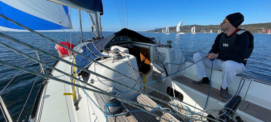 Iskald sesongstart i Oslofjorden