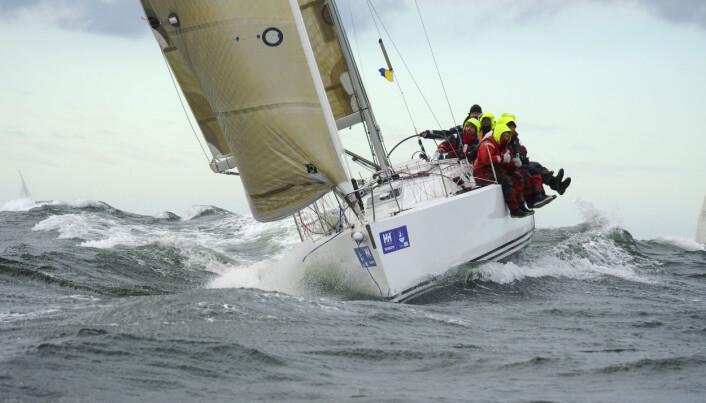 ENERGI: En seilbåt er en miljøvinner, også for motor.