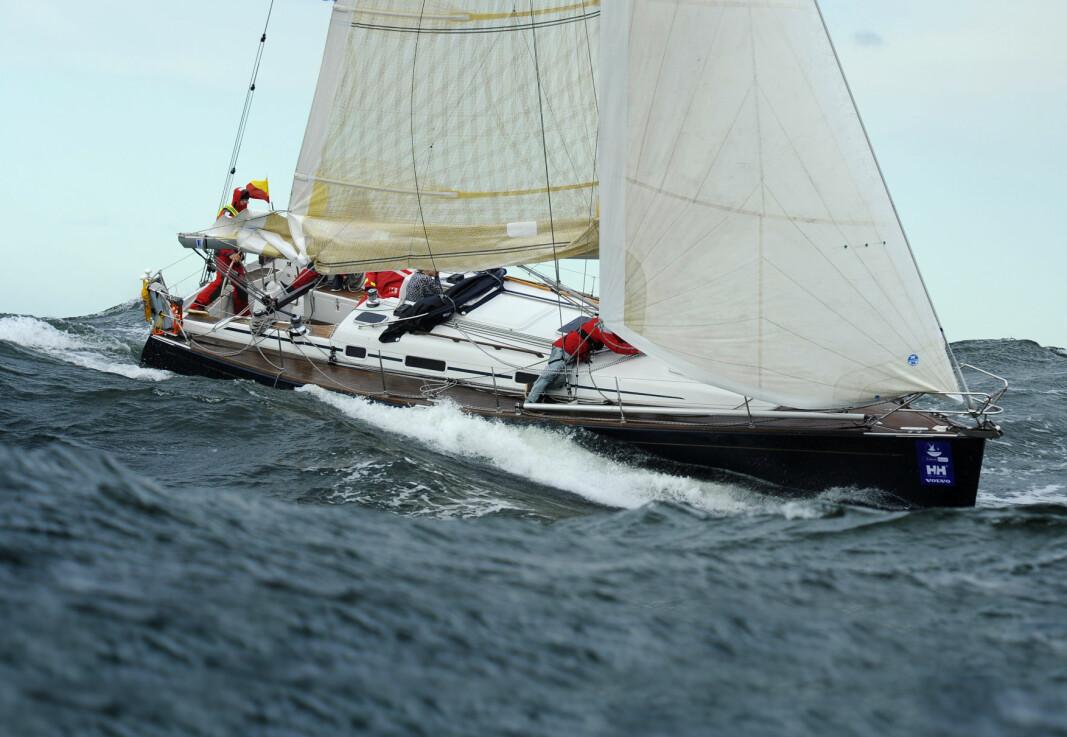 Færderseilasen 2010: Det er under tøffe forhold hvor båters egenskaper blir satt på prøve.