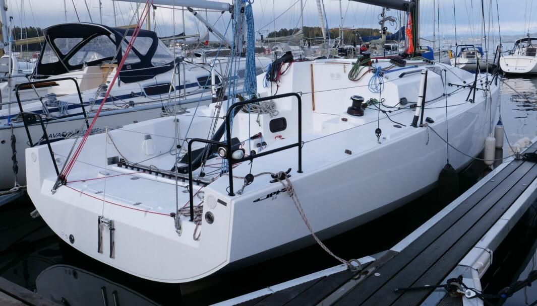 SPREK: På brygga til Asker Seilforening ligger det en splitter ny JPK 1030, en båt som vil matche Sun Fast 3300.