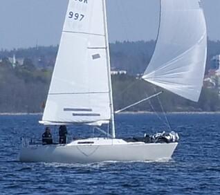 SEIER: Express var raskest av de små båtene med to om bord.