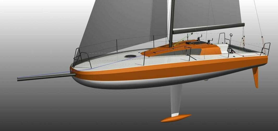 GRØNN: Olympic 32 skal bygges med ny teknologi i et kompositt som kan resirkuleres.