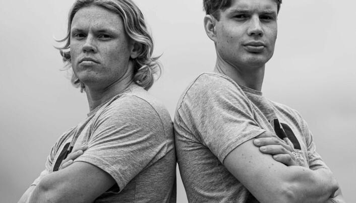 Tomas Mathisen og Jeppe Nilsen - mot OL 2024